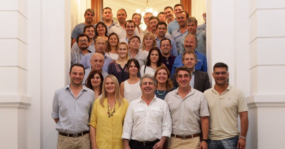 El intendente PRO de Pergamino lideró la mesa de trabajo de la segunda sección que se concretó el pasado 21 de noviembre en el Club Social de esa ciudad.