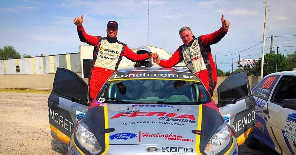 Campeón absoluto de todas las categorías del Rally Federal.