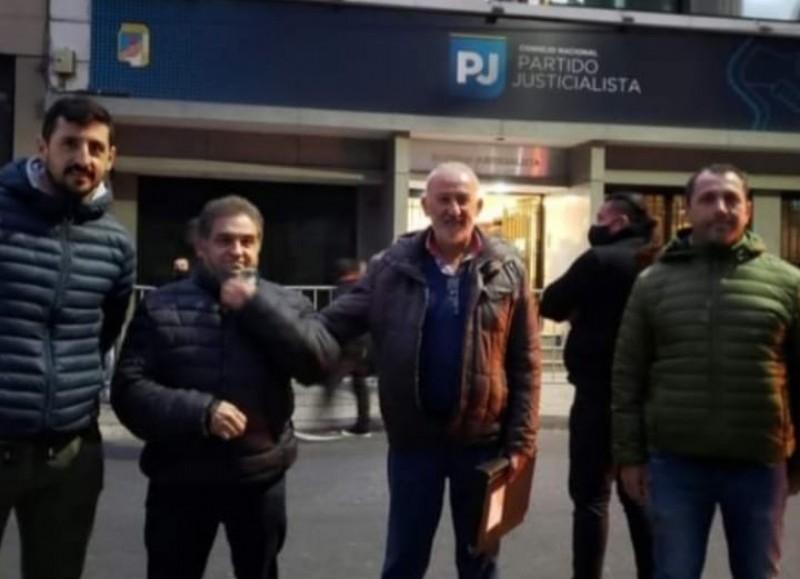 Edgardo 'Tuto' Speroni, Ricardo Rivolta, Luis Miguel Caso y Claudio Ravagnan.