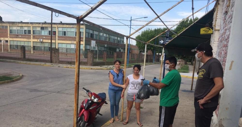 Acción concretada por Ricardo Bini y su equipo.