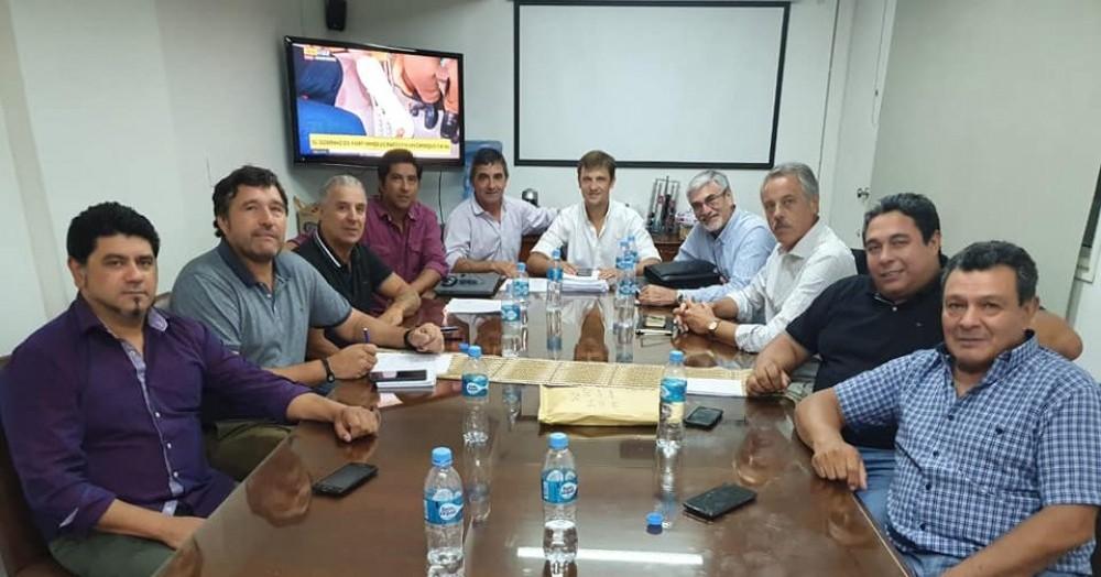 Reunión en Buenos Aires.