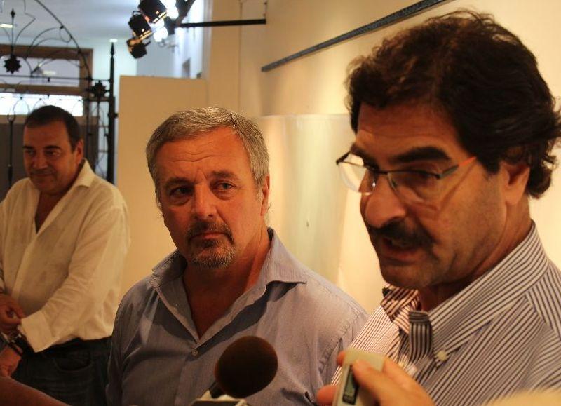 Claudio Rossi y Leonardo Sarquís.