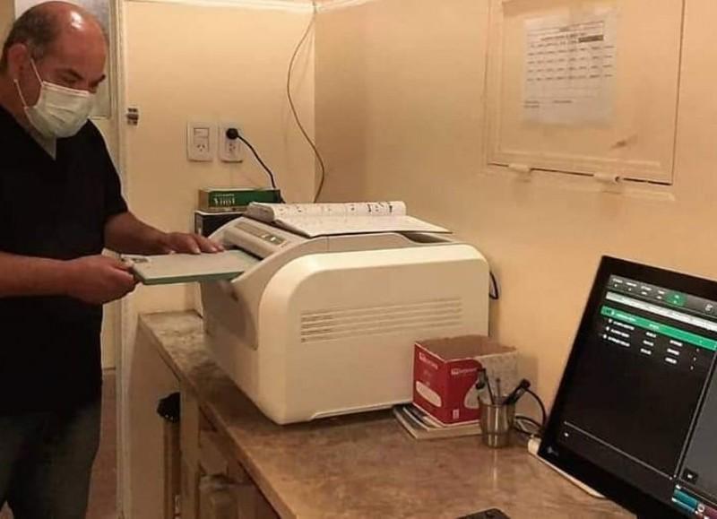 Digitalizador de radiografías.