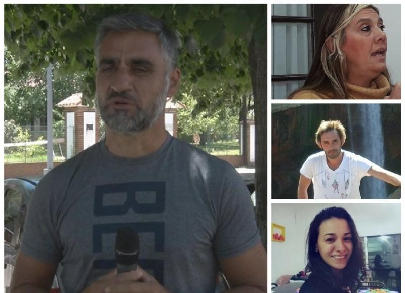 Carlos Salinas, Sandra Sartelli, Roy Noguera y Antonela Franceschina.