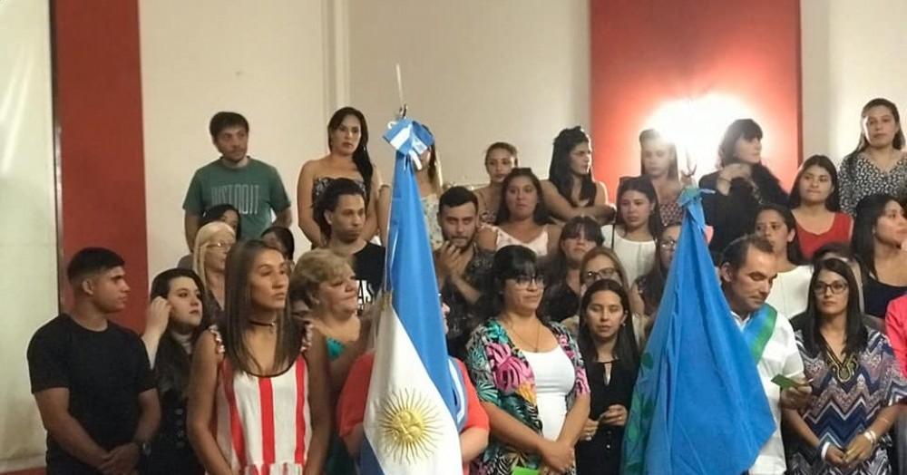 Tuvo lugar en el Centro Cultural Sabato.