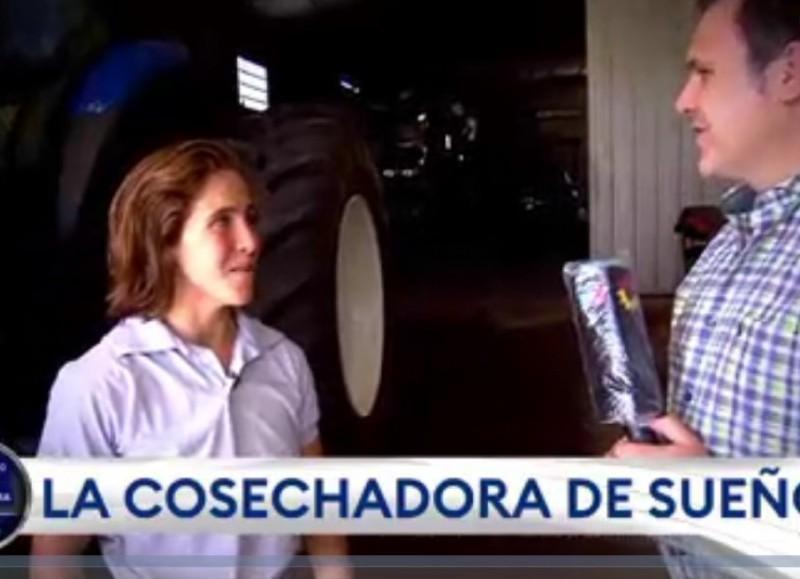 Entrevistada por Sergio Chiarito.