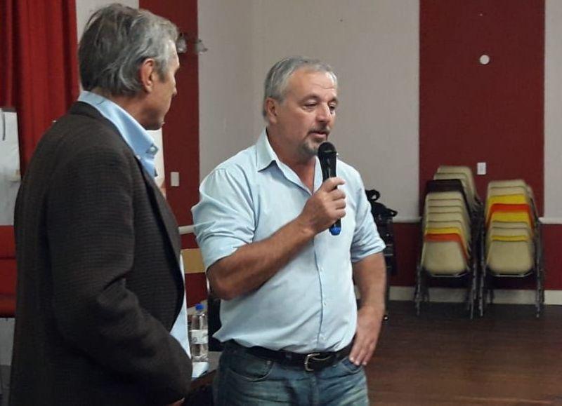 El intendente Rossi recibió a autoridades provinciales (fotos de nuestra producción y gentileza de Damián Clavijo).