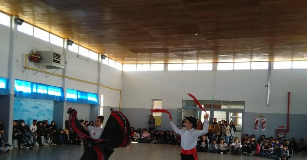Festival de Danza Patrimonial en Pareja.