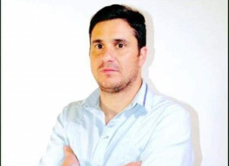 Ricky Bini, precandidato a concejal.