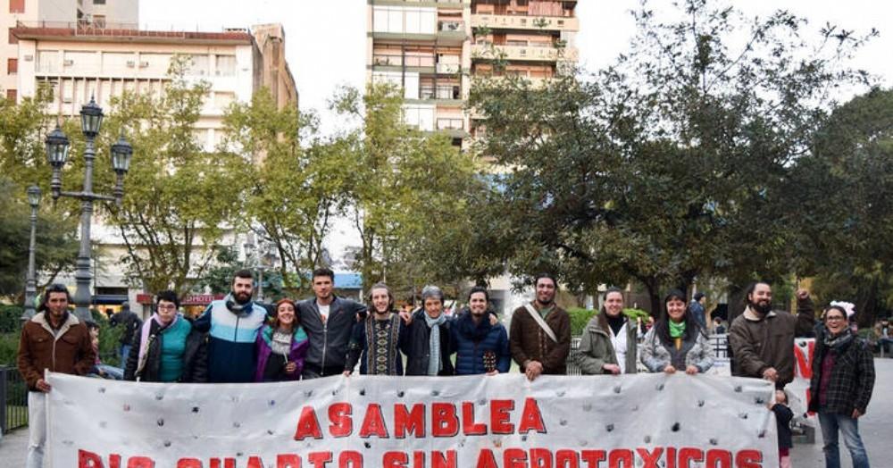 """""""Cuando hay resistencia y conciencia ambiental de parte de un pueblo, no hay multinacional que se pueda instalar"""", festejó la Asamblea Río Cuarto sin Agrotóxicos."""