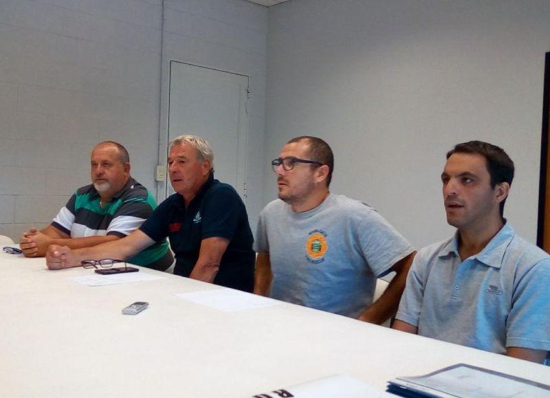 Conferencia de las autoridades.