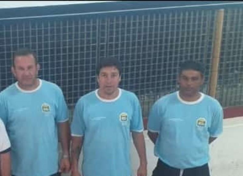 Maxi Membriani, Pedro Tisera y Darío Díaz fueron segundos en Chivilcoy.