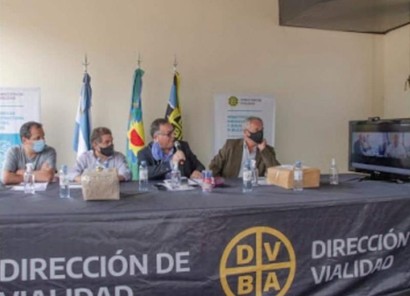 Ceremonia en La Plata.