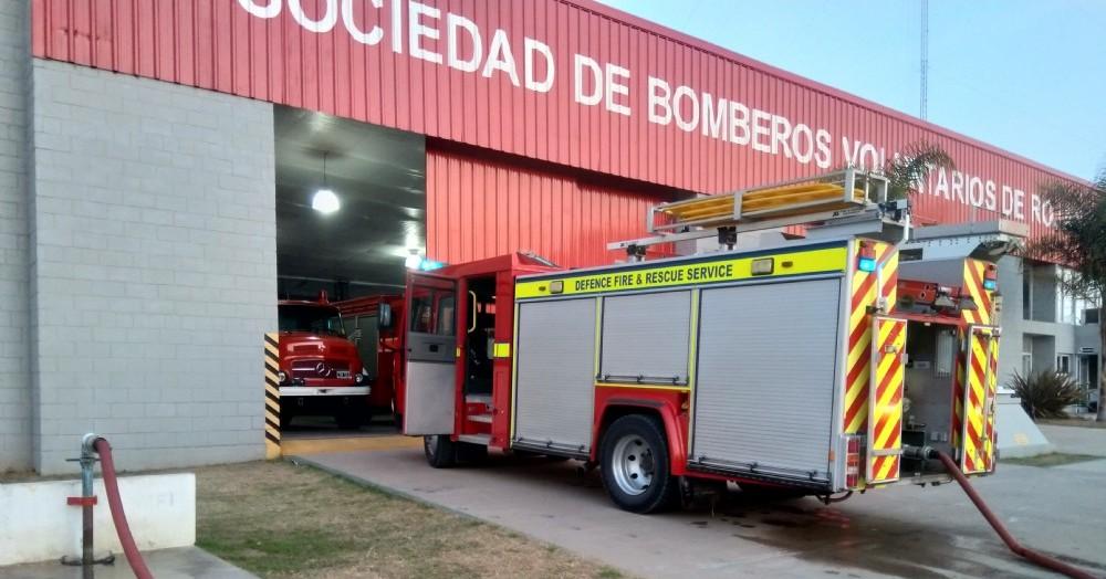 Intervención de Bomberos (foto de archivo).