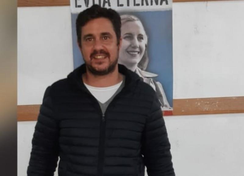 Ricardo Bini, precandidato a concejal del Frente de Todos.