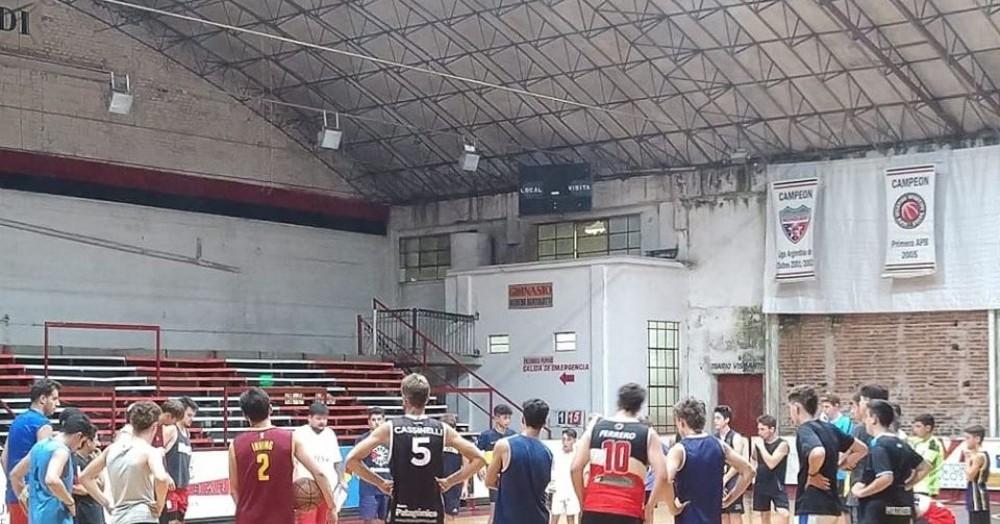 Entrenamientos en el gimnasio tricolor.