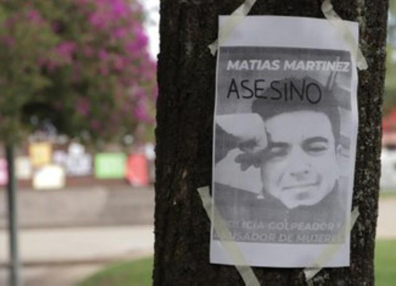 Matías Ezequiel Martínez se negó a declarar este viernes ante la Justicia.