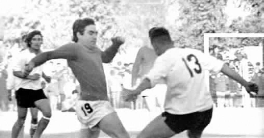 Mario Tulio en acción.
