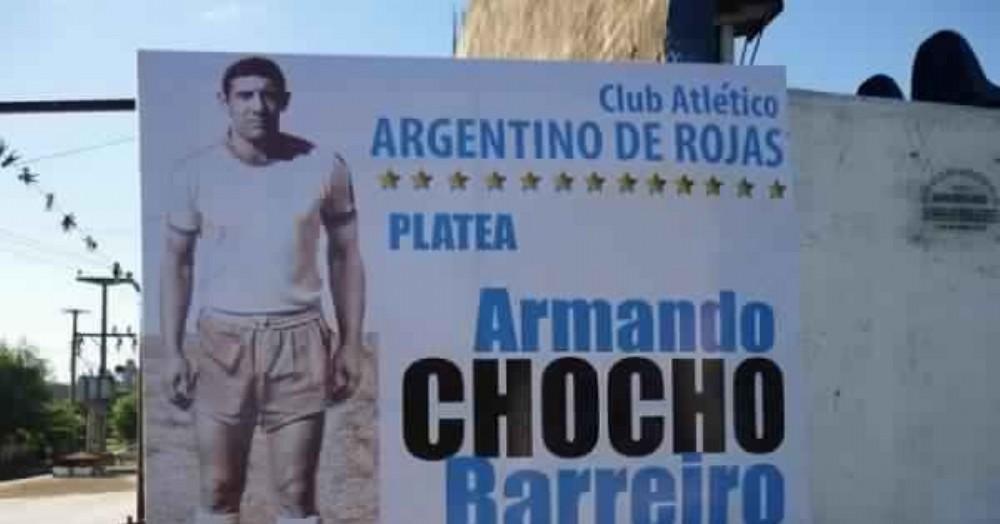 "Homenaje a ""Chocho"" Barreiro."