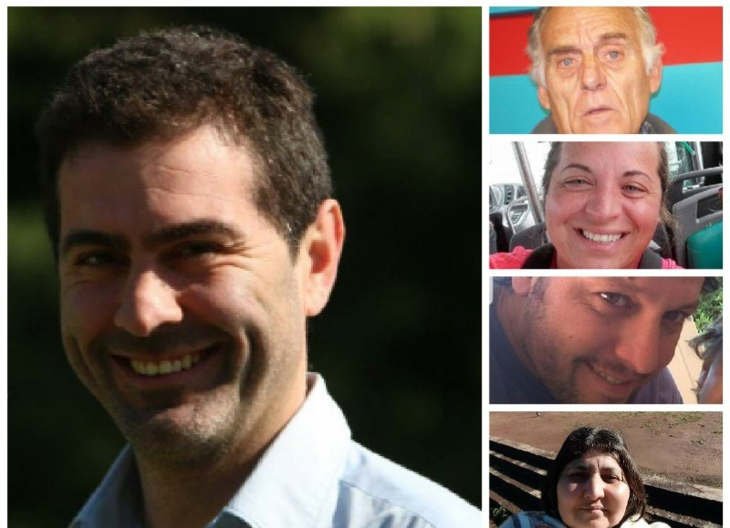 Hernán Quintana, Alberto del Solar, Gisela Montiel, Patrick Breitschmitt y Silvia Medina.