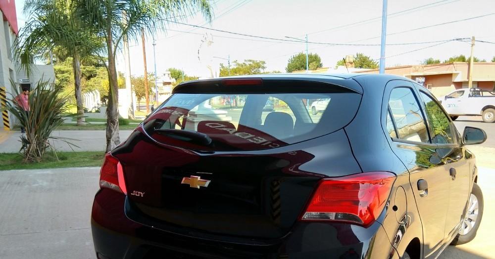 El Chevrolet Onix en cuestión.