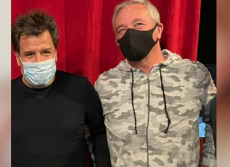 Facundo Manes y Claudio Rossi.