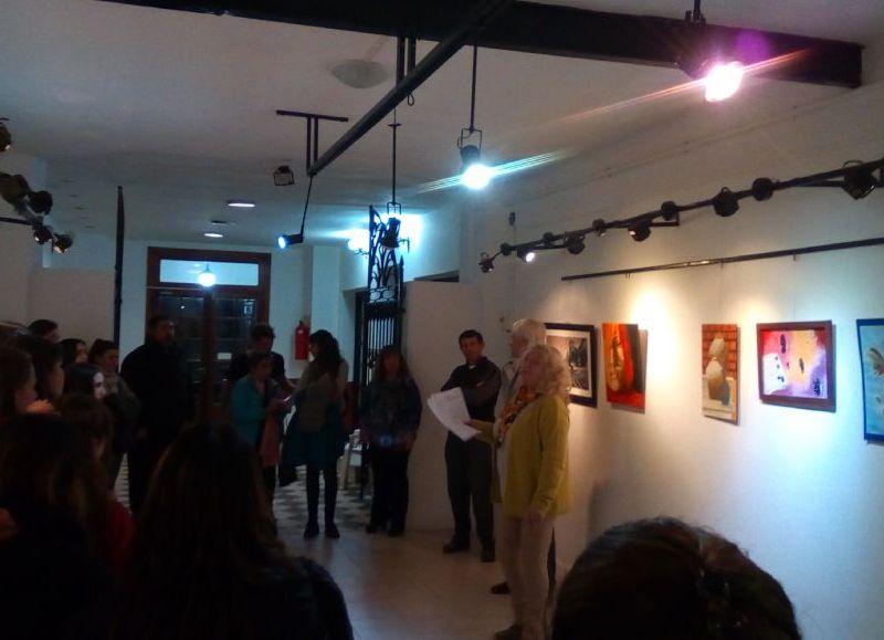Exposición en el Centro Cultural Sabato.