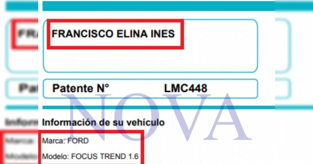 La funcionaria judicial Elina Francisco fue detenida.