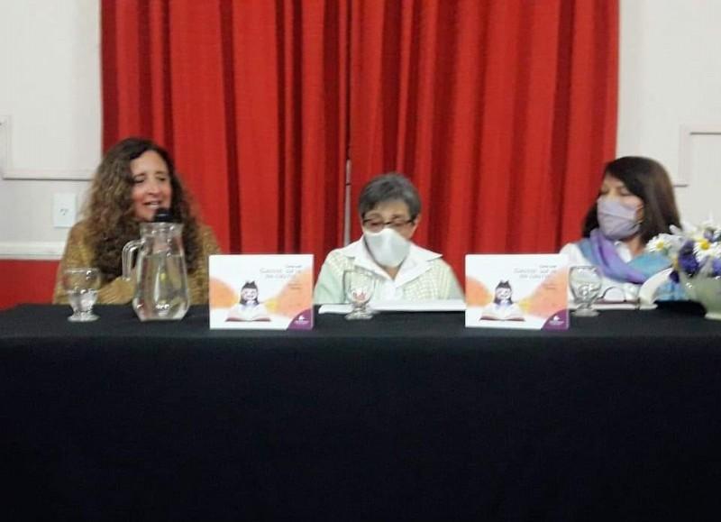 Un pasaje del acto en el Centro Cultura Ernesto Sabato.