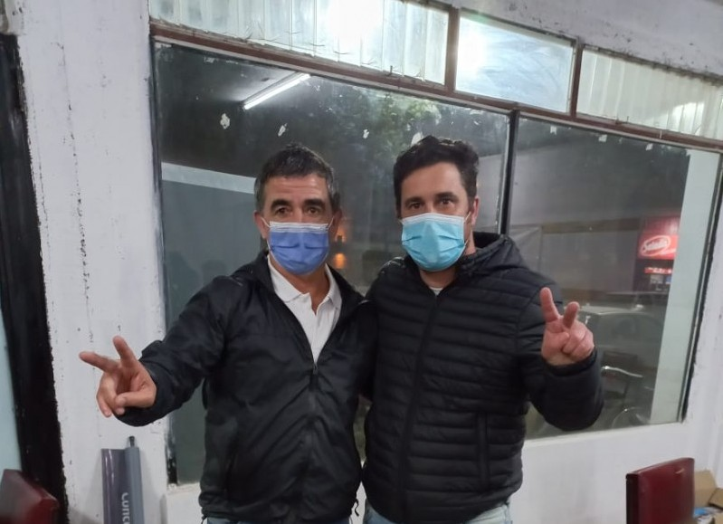 Luis Biorlegui y Ricardo Bini.