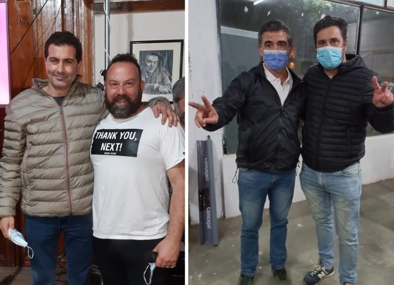 Quintana y Lionetti (Juntos) y Biorlegui-Bini (FdT).