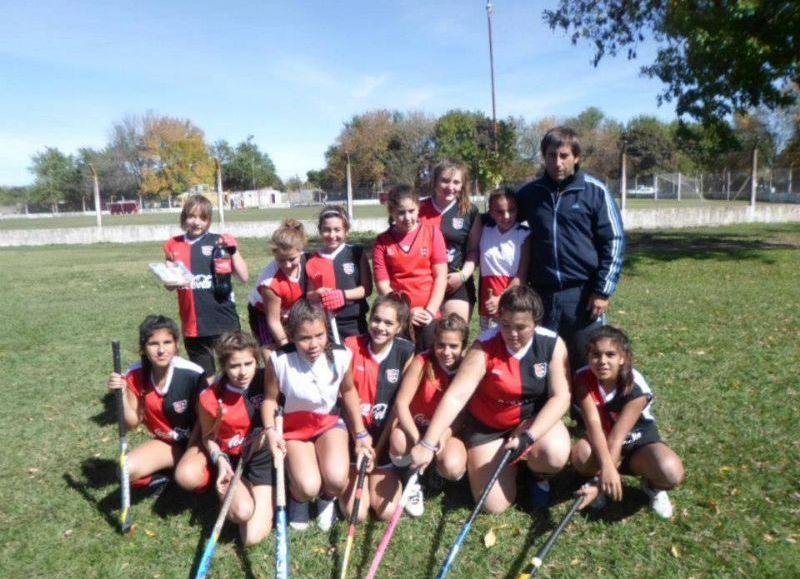 Las chicas de Hockey de Newbery.