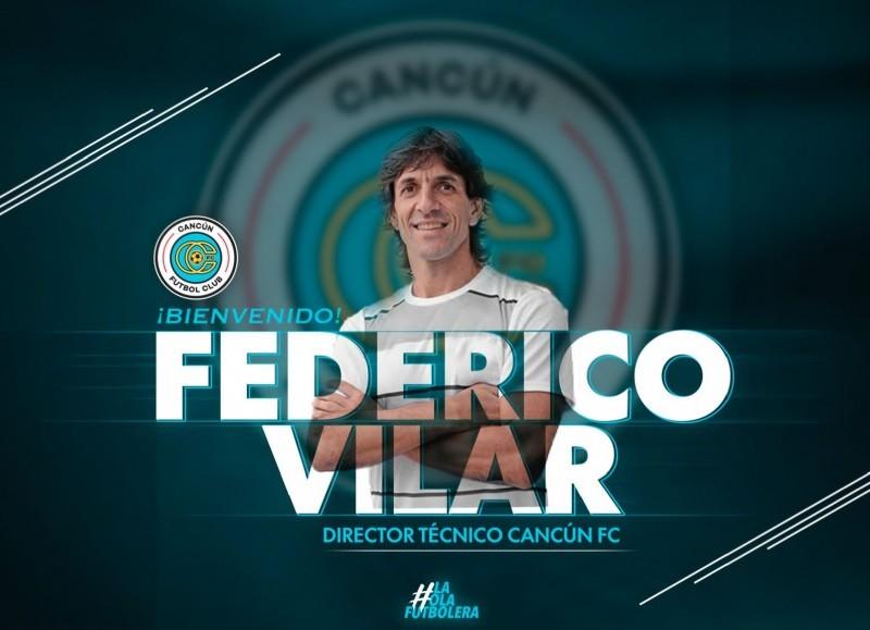 Antes de su ida a dirigir al Cancún FC de México.