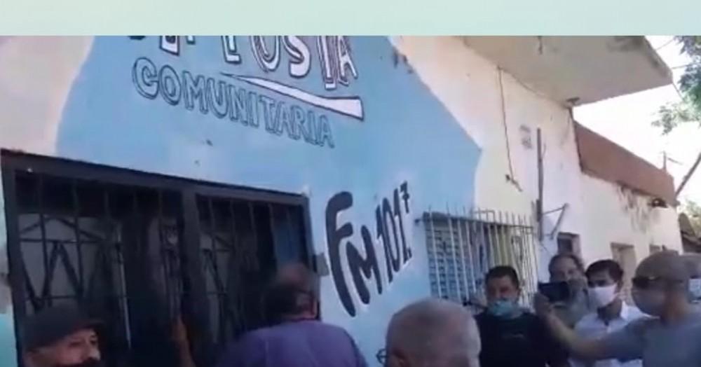 Vecinos recuperaron la sede de la Comisión de Fomento del Barrio Belgrano, que en 2014 había usurpado el entonces concejal y hoy diputado nacional, Lisandro Bormioli, para instalar una FM.