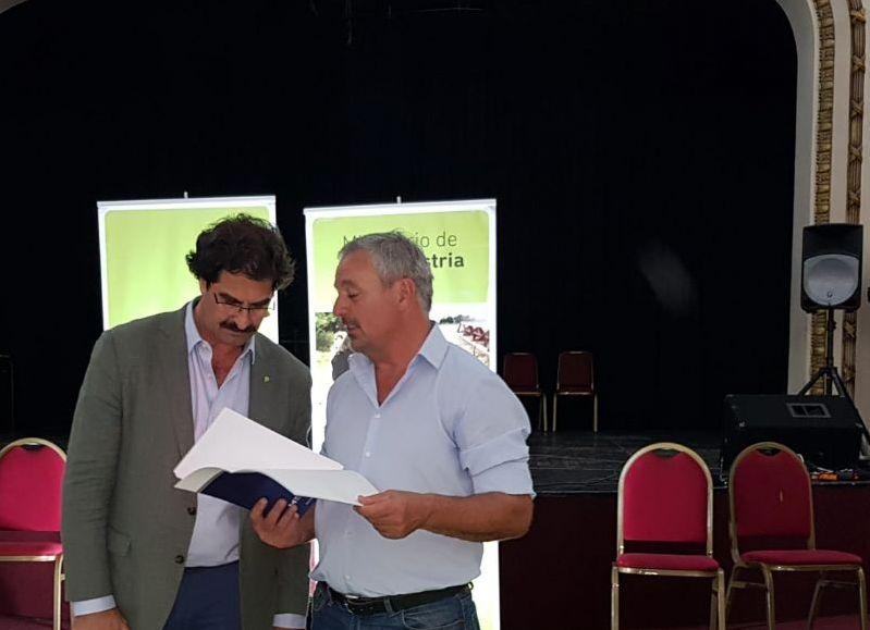 Leonardo Sarquís y Claudio Rossi.
