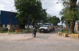 El Municipio desarrolla tareas de bacheo