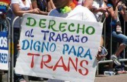 Reclamo y marcha por el trabajo de personas trans en Rojas