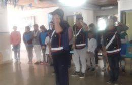 Reciente acto en homenaje a San Martín.