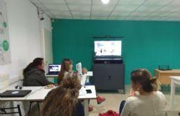 Videoconferencia.