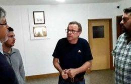 """Visitó Rojas el precandidato a gobernador Fernando """"Chino"""" Navarro"""