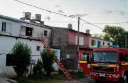 Principio de incendio en vivienda de Barrio Nehuenche I