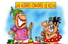 Las Alegres Comadres de Rojas. (Dibujo: Rojas Ciudad)
