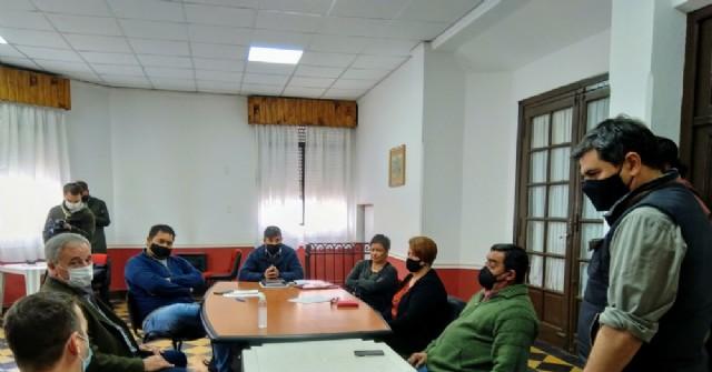 Encuentro en el Centro Cultural Rojas.
