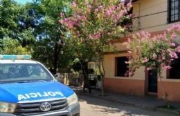 Denuncian ilícito en una vivienda de calle Sarmiento