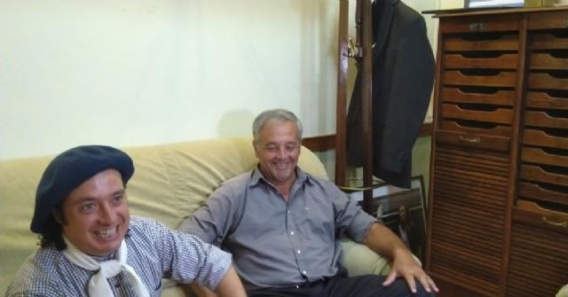 Tras brillar en Jesús María, Nicolás Membriani brindó una rueda de prensa en el Municipio