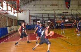 Las inferiores de Sportivo disputaron los cuartos de final de APB