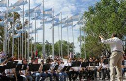 La Banda municipal de música de Pergamino actuará en Plaza San Martín