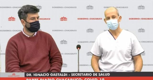 Chacabuco sumó un nuevo caso positivo