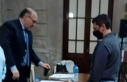 Claudio Trotta asumió su banca de concejal