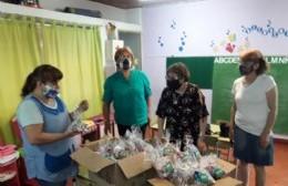El Jardín Bichito de Luz recibió una donación de parte del grupo de mujeres de AFA